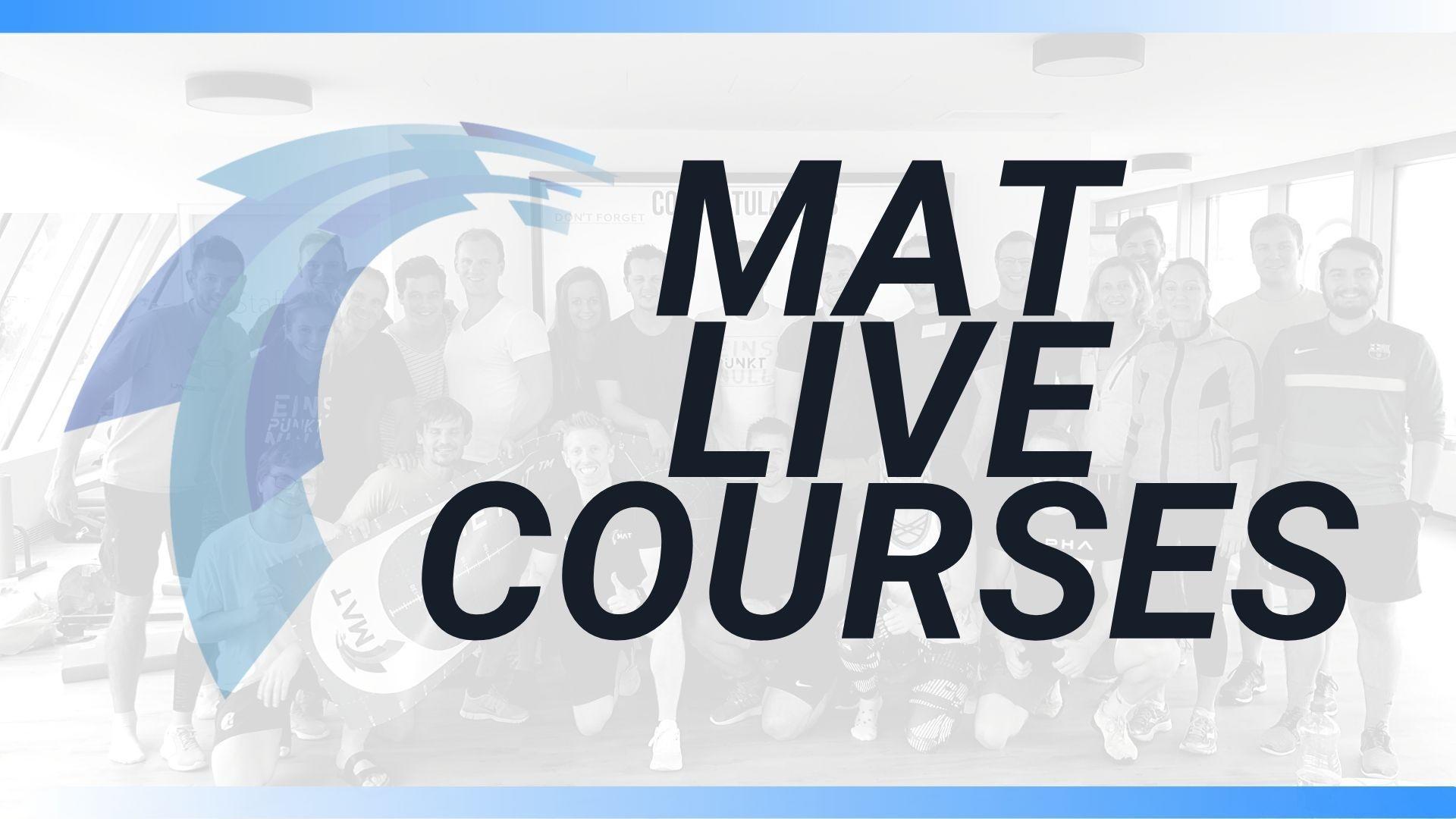 MAT LIVE courses