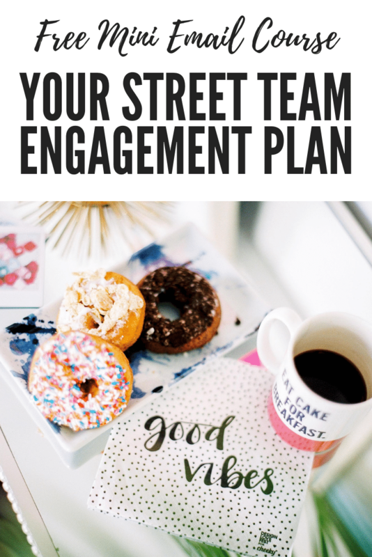 Street Team Engagement Plan