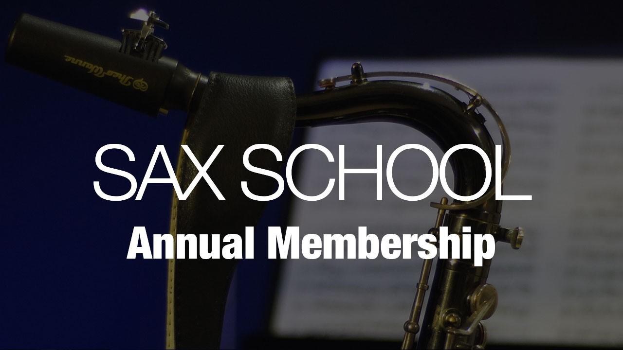 Sax School Bonus Offer