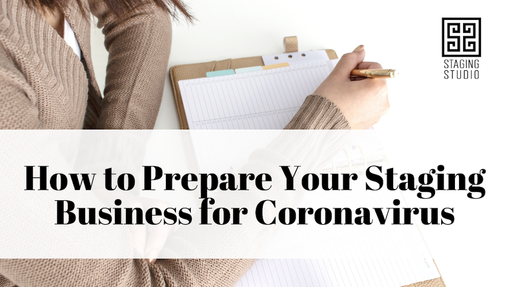 How to prepare your staging business for coronavirus