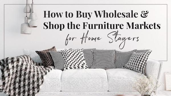 Wholesale buying for stagers