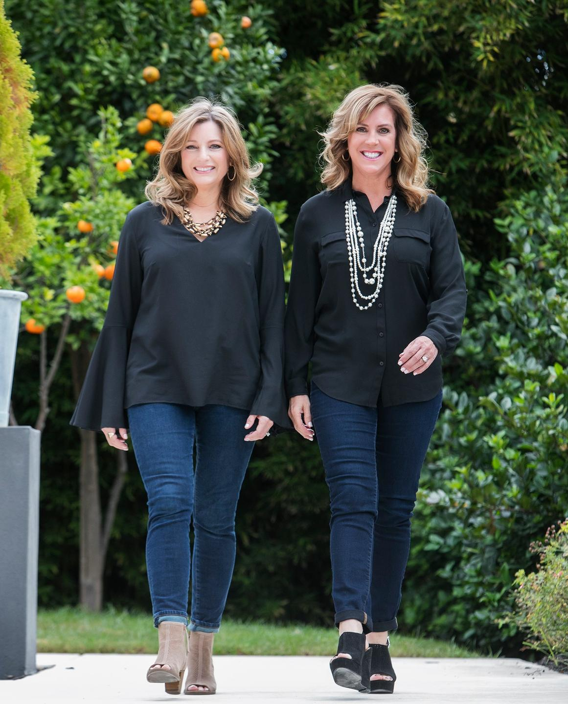 Debbie Boggs and Julie Young