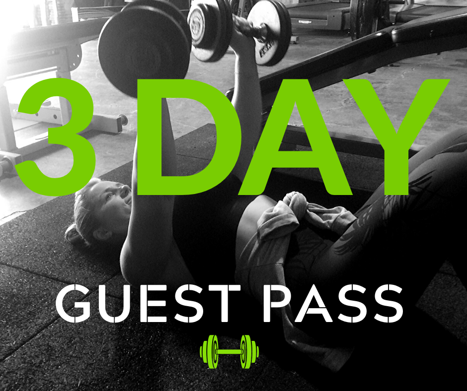 3 Day Guest Pass at BYP 24/7 Gym Jimboomba