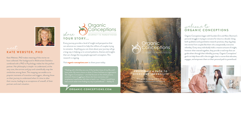 Organic conceptions affiliate resource page client brochures fandeluxe Gallery