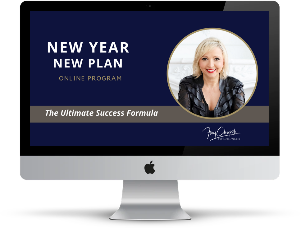 new year new plan with fay chapple