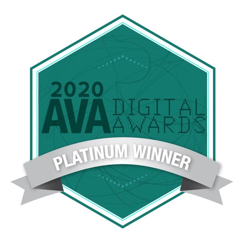Encore:CEO AVA Digital Awards Platinum winner