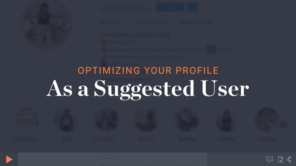 Optimize Your Instagram Profile