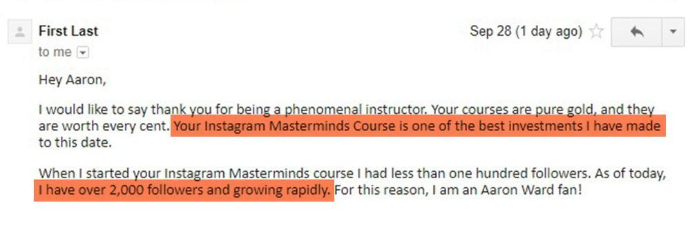 Instagram Masterminds Review