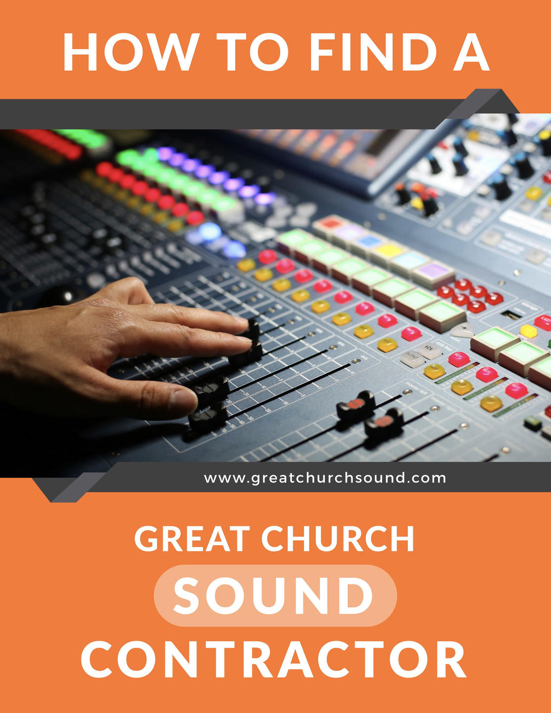 How To Find A Great Church Sound Contractor
