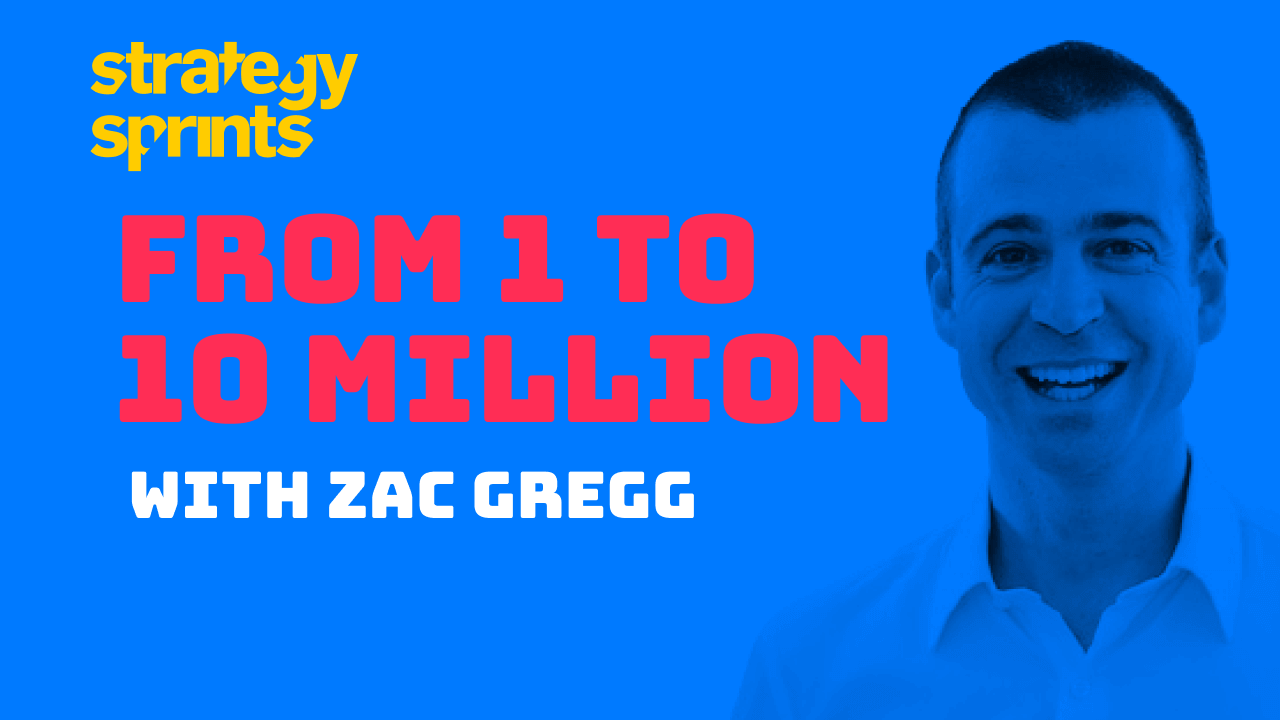 1 to 10 million Zac Gregg