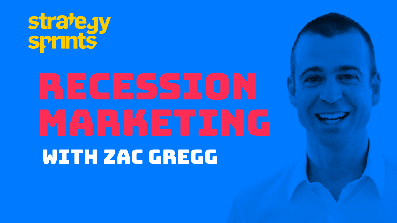 Recession Marketing Zac Gregg
