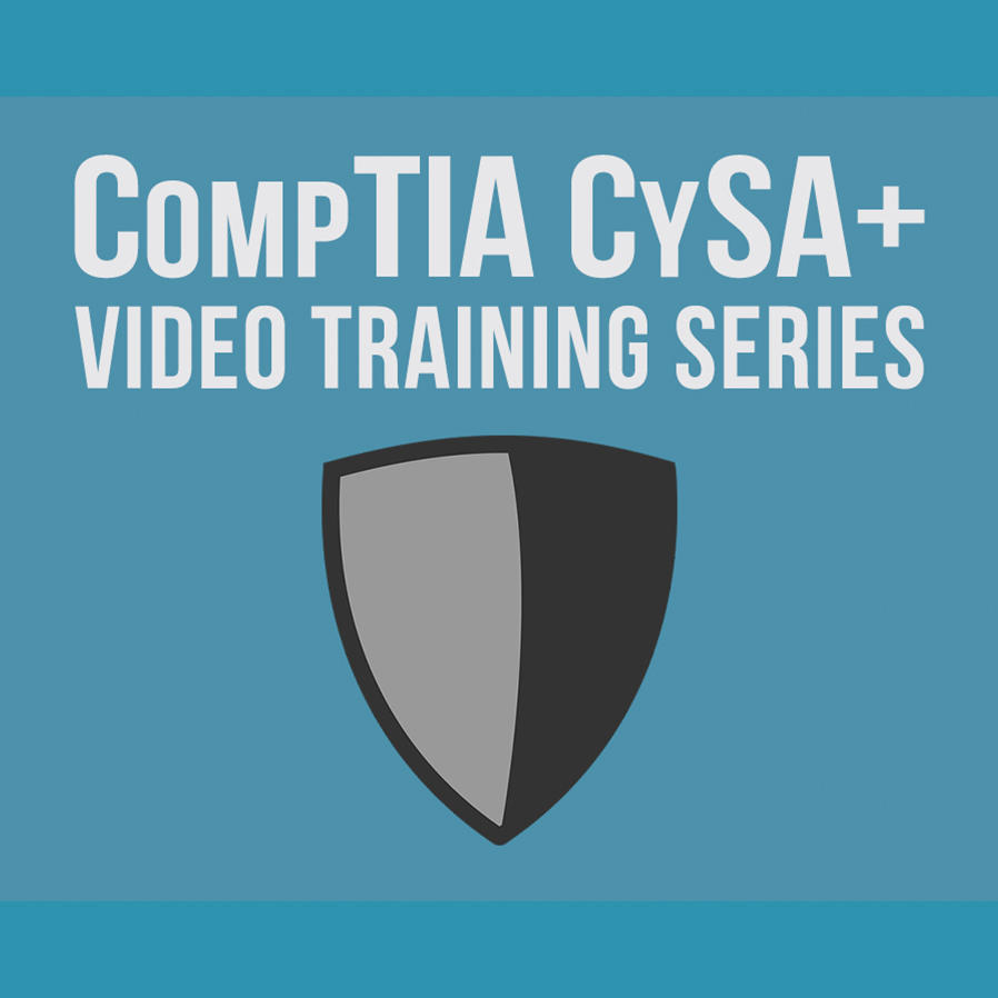 Video Courses Data Security Comptia Cysa Is For It Professionals Looking To Gain Analyst Skills Learn How Perform Analysis And Interpret The Results Identify