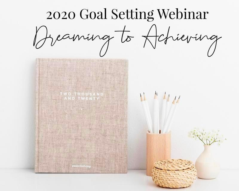2020 Goal setting webinar