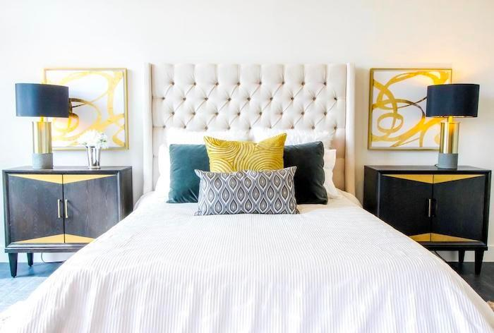 staging a bed