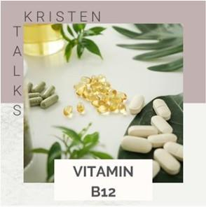 Kristen Blake Instagram post about vitamins.