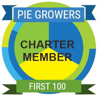 PieGrower badge