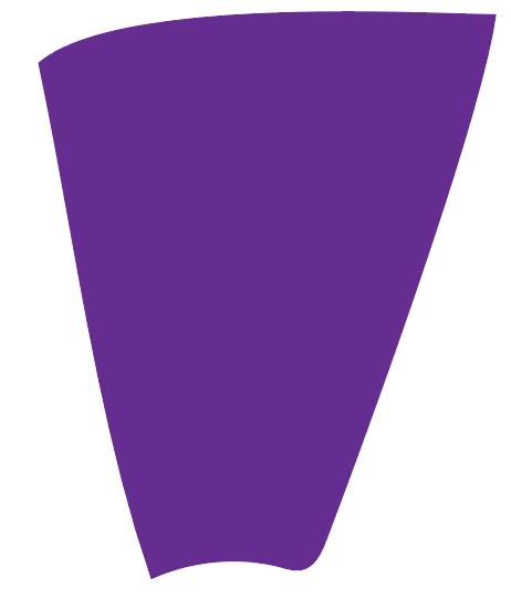 Purple color swatch