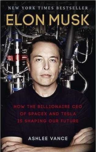 Elon Musk Inspirational Books for Entrepreneurs