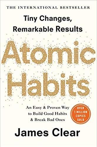 Atomic Habits James Clear Inspirational Books for Entrepreneurs