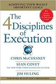 4 disciplines of execution Inspirational  Books for Entrepreneurs