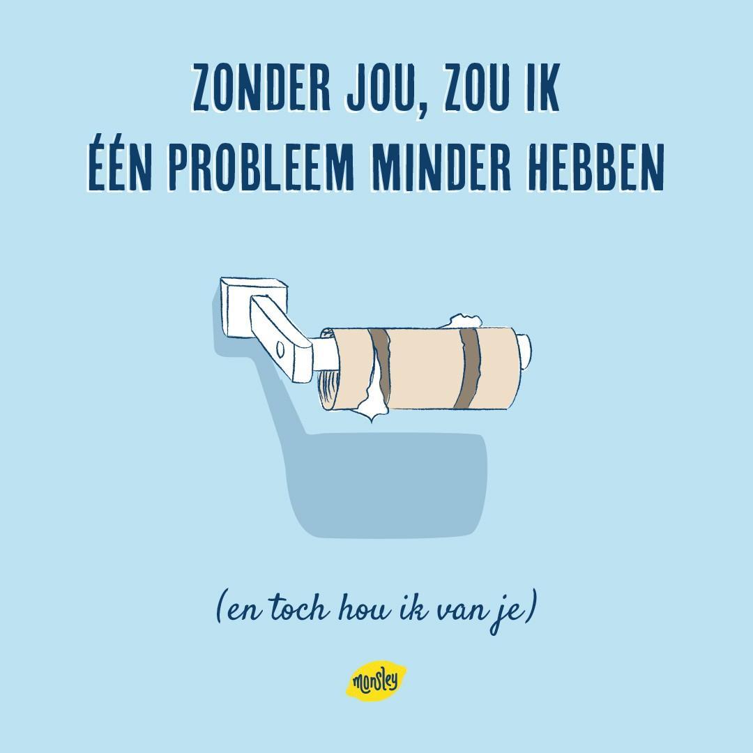 Anti-Valentijnsdagkaart ©Monsley 1. Toiletrol