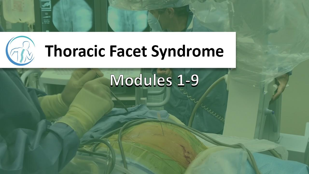 Thoracic Facet Course Store
