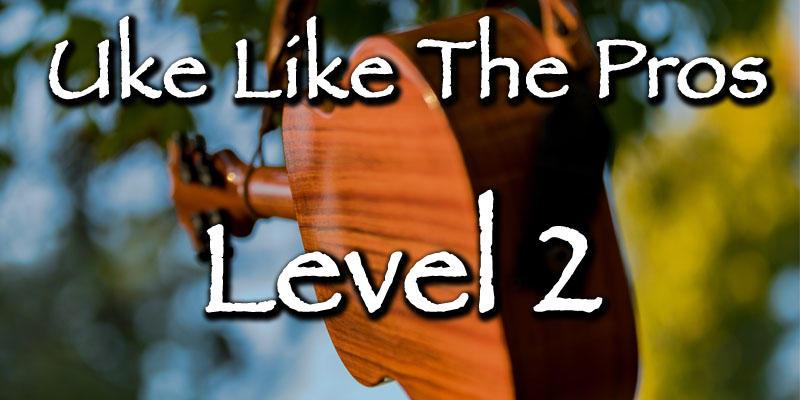 Uke Like The Pros Learn Ukulele Level 2