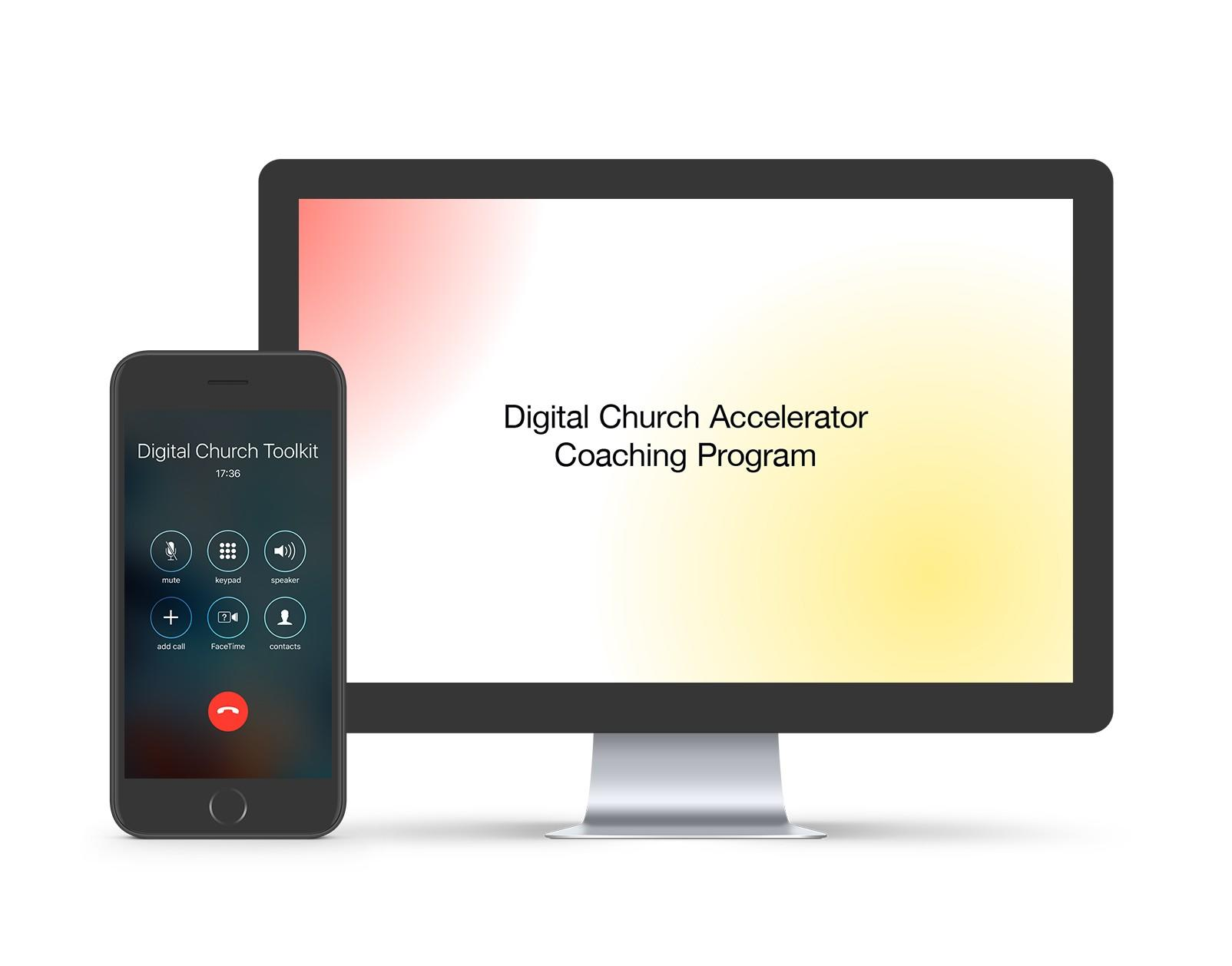 Digital Church Accelerator Coaching Program
