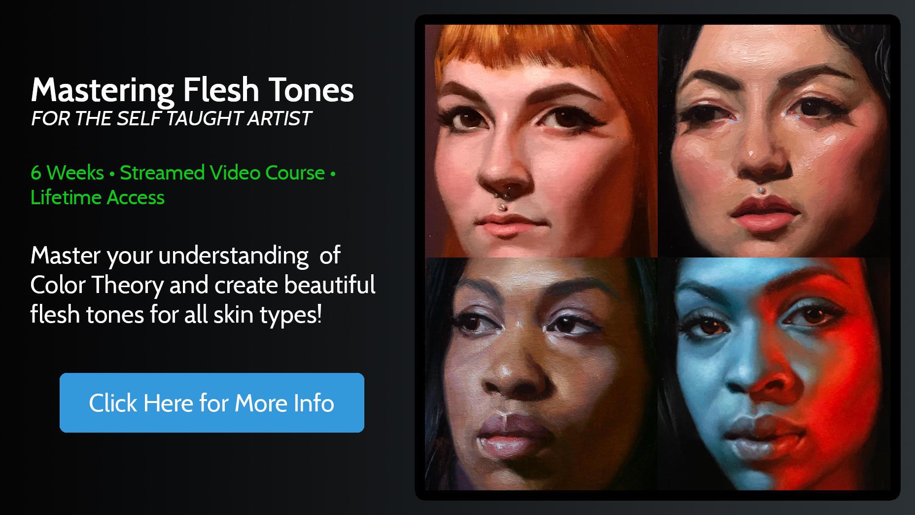 Mastering Flesh Tones Online Course