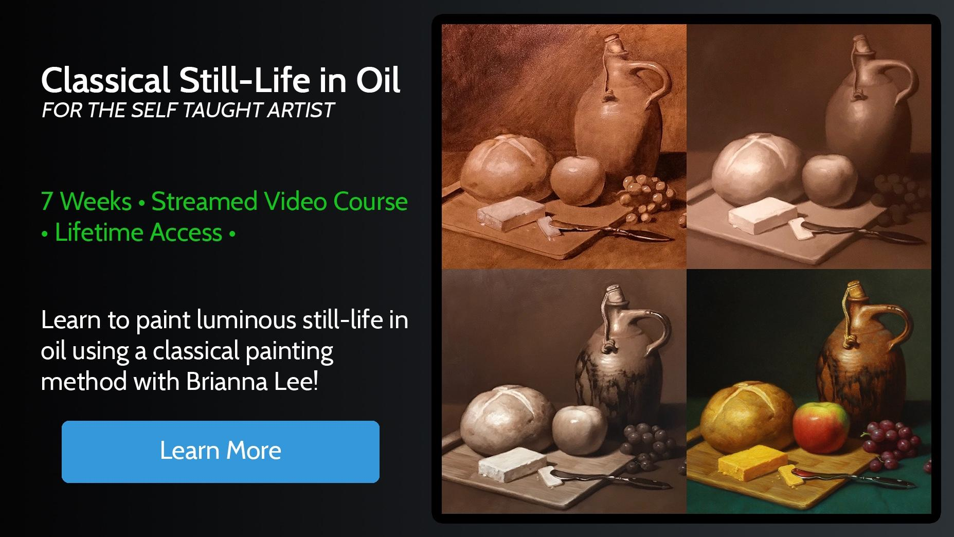 Classical Still-Life in Oil Online Course