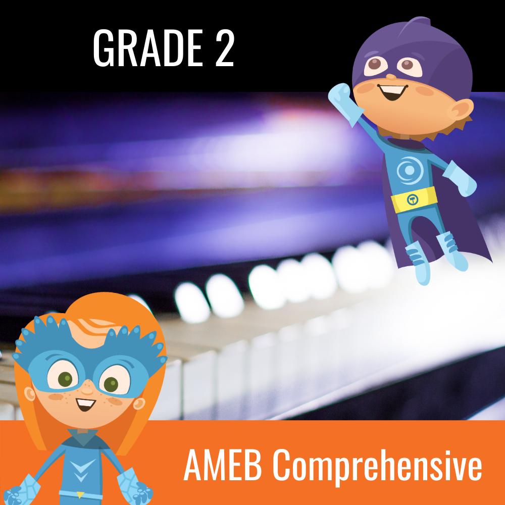 AMEB Piano Comprehensive Grade 2 Scales