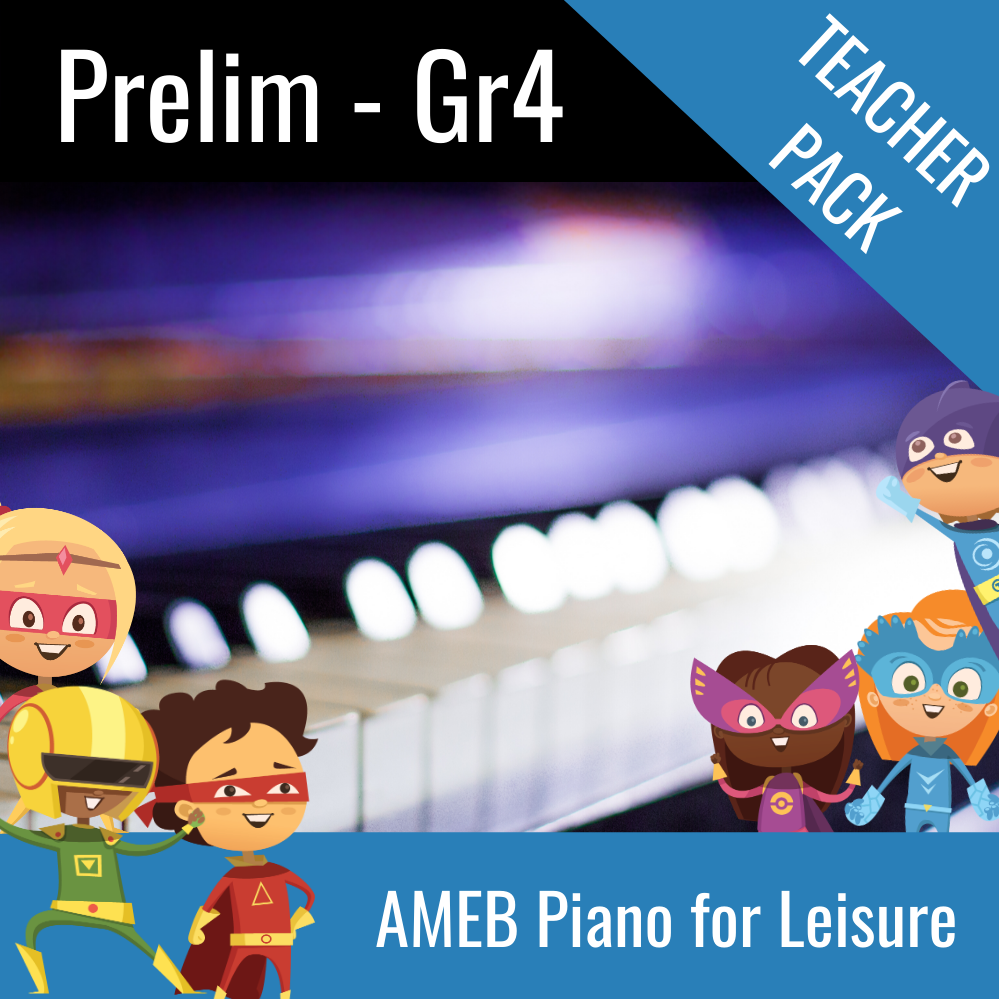 AMEB Piano For Leisure Teacher Pack