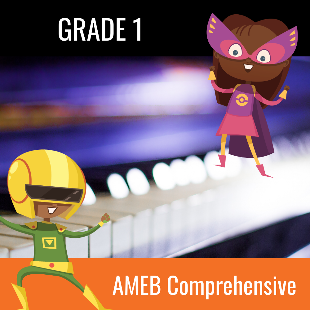 AMEB Piano Comprehensive Grade 1 Scales