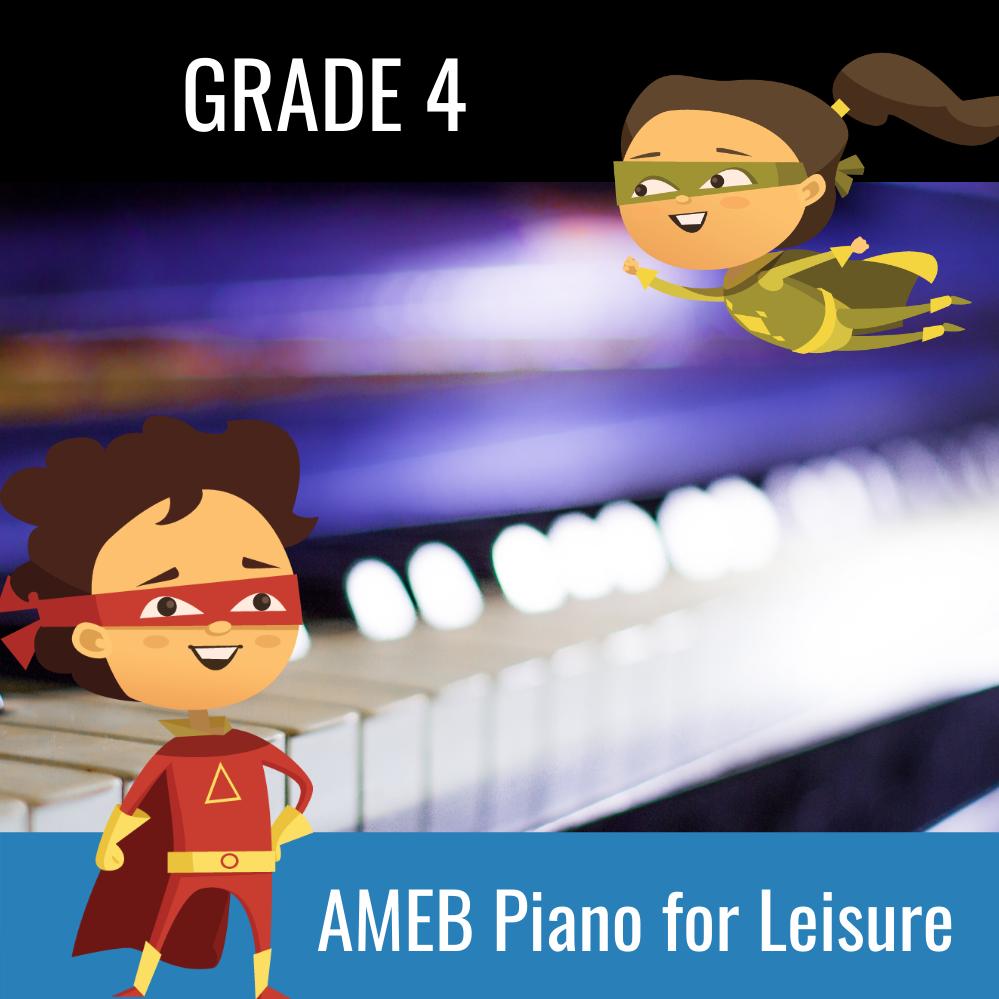 AMEB Piano For Leisure Grade 4