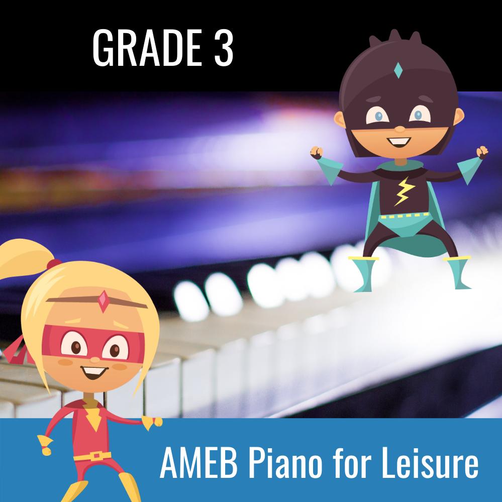 AMEB Piano For Leisure Grade 3