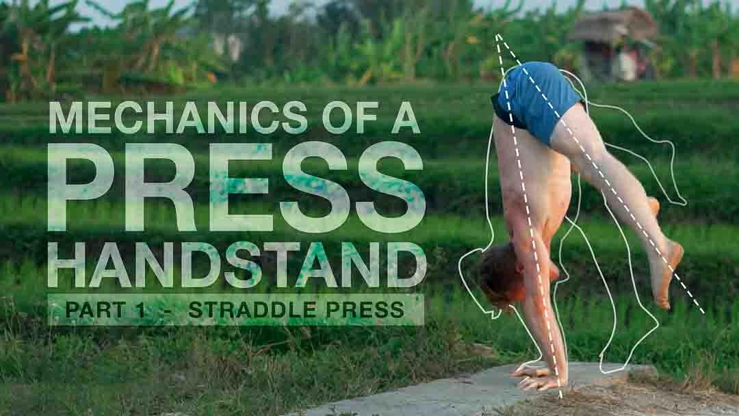 Mechanics of a press handstand how to press handstand handstand toolkit