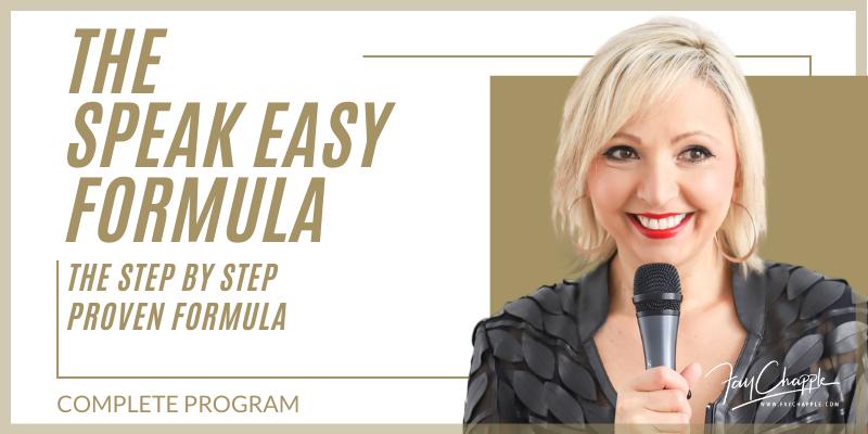 Speak Easy Formula With Fay Chapple