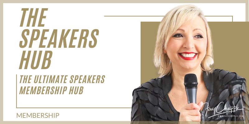 Ultimate Speakers Resources with Fay Chapple
