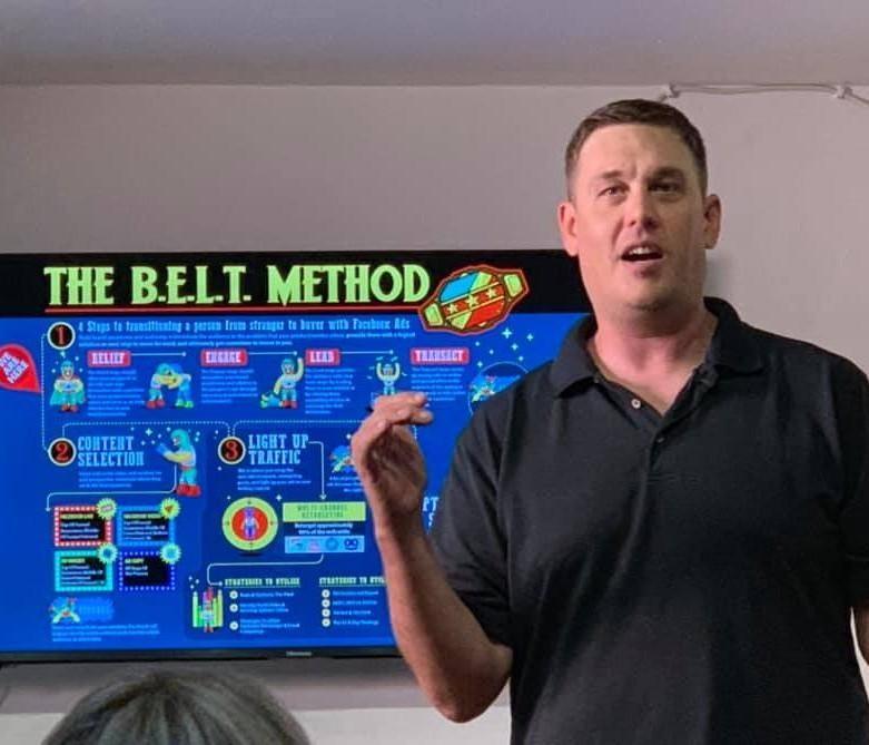 Curt teaching the BELT Method