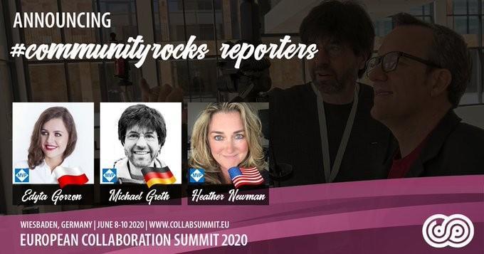 european collaboration summit community reporters
