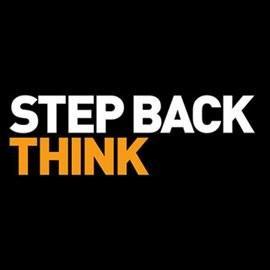 Step Back Think