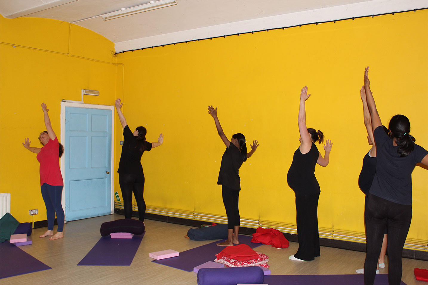 Pregnancy Yoga at St. Augustine's Church, Croydon