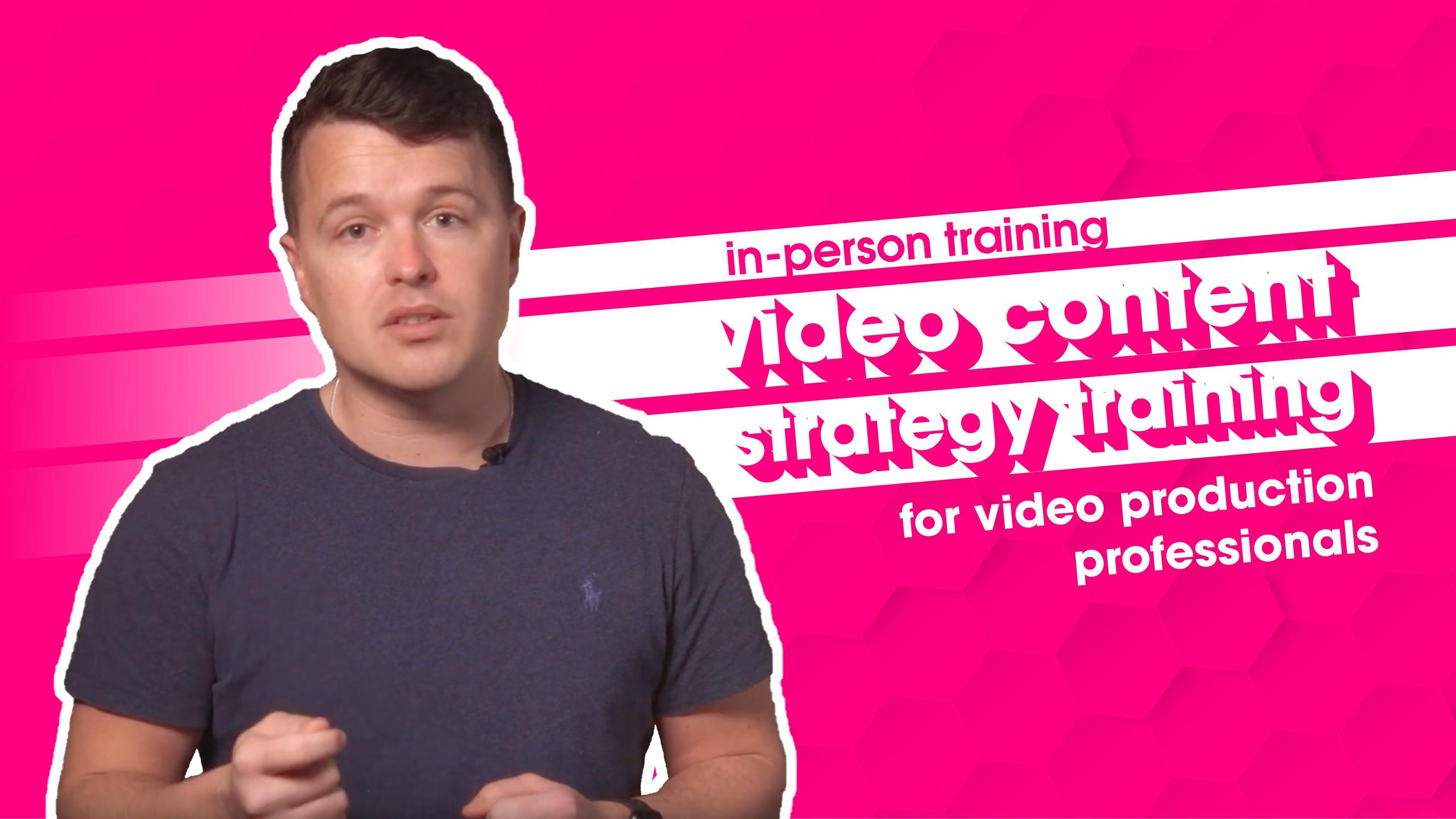 Video Marketing Coaching - Video Content Strategy Services - Film and Content - F&C