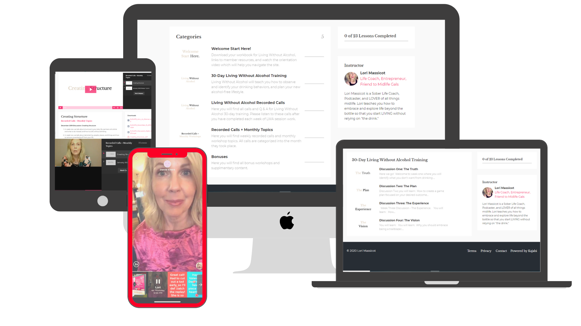 How ELEVATE Group Coaching with Lori Massicot works