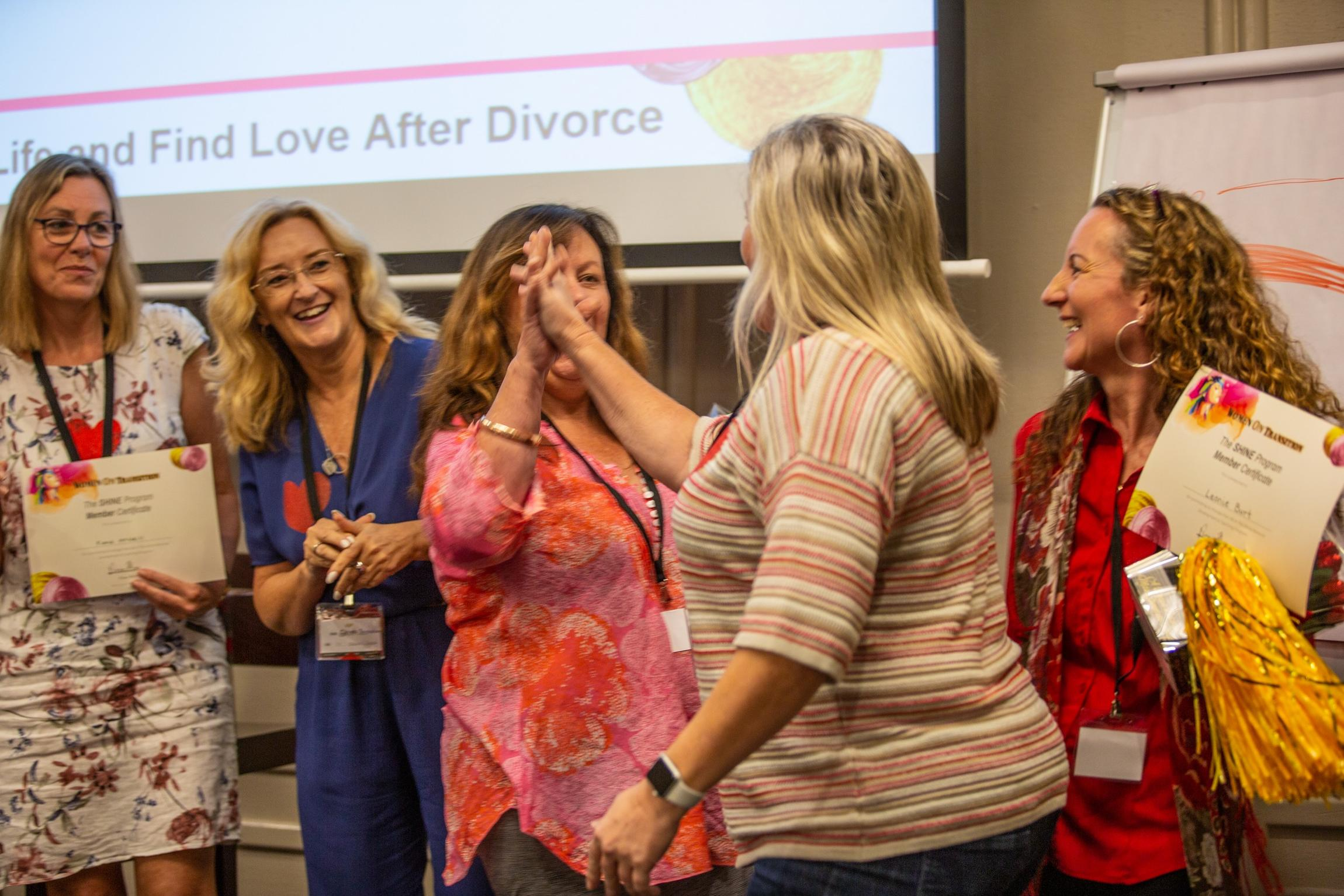 Reset Your Life And Find Love After Divorce 3 Day Free Event For Women When is the right time? and shine after divorce