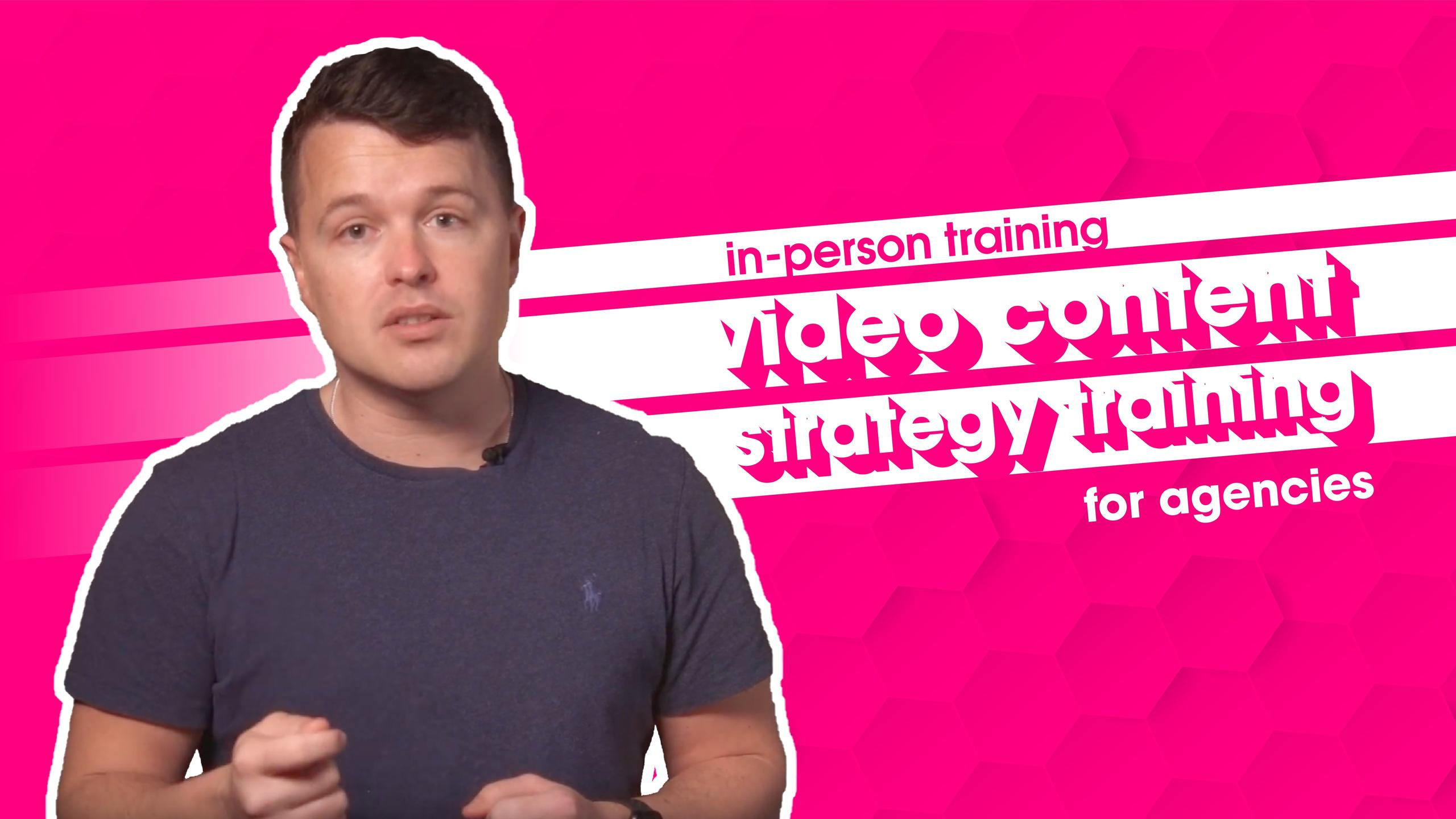 Video Marketing Training - Video Content Strategy Services - Film and Content - F&C