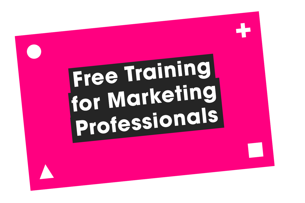 Free training for marketing professionals - Video Content Strategy Services - Film and Content - F&C