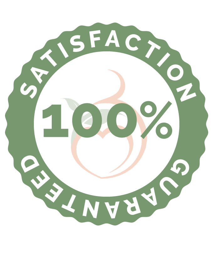 Organic Conceptions 100% Satisfaction Guarantee Icon