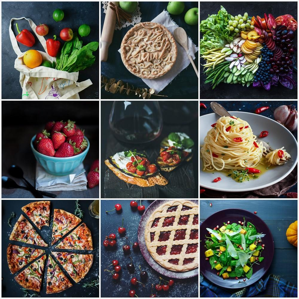 Food Stylist Editing Examples