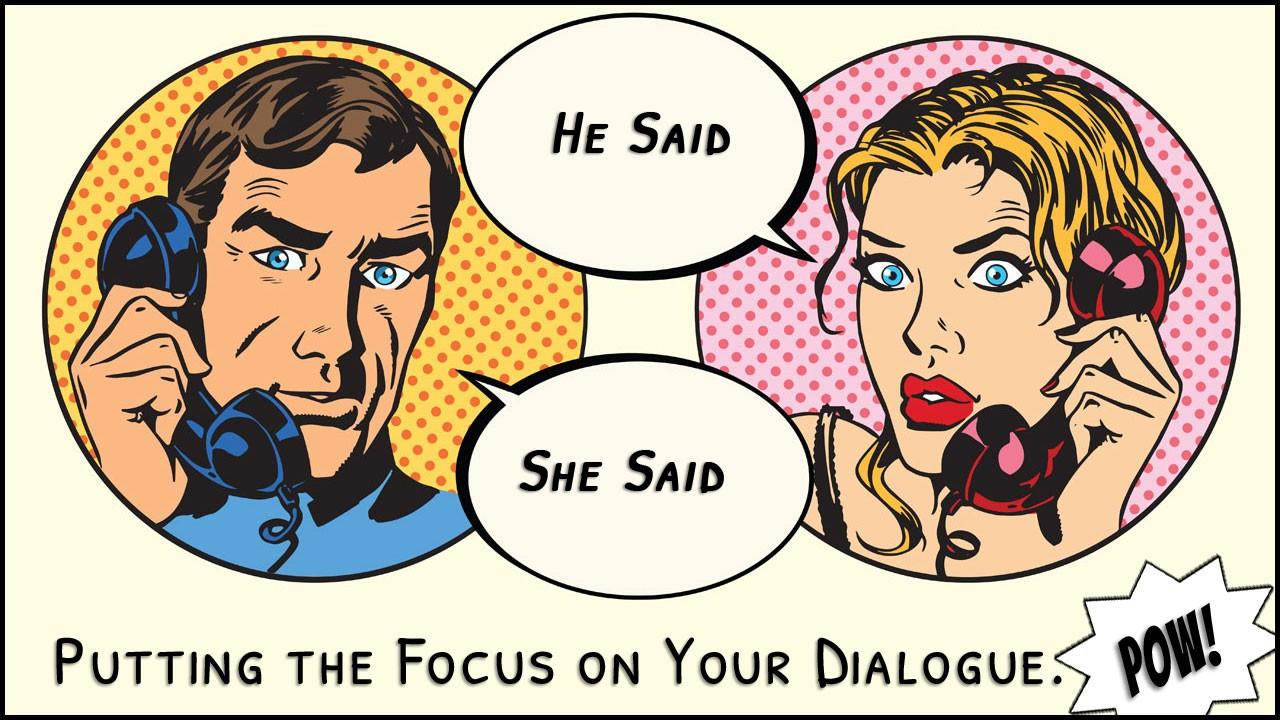 Fiction dialogue writing class